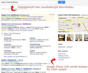 Zoekscherm online marketing